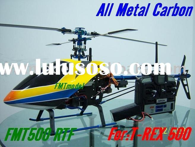 FMT 500 CF-R1 All Metal carbon 500 RTF RC Helicopter ALIGN TREX T-REX 500 include battery charger an