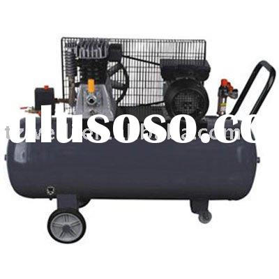 H255100T-Portable design Italy type belt driven air compressor