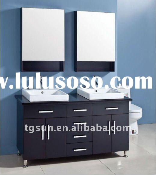 modern double sink bathroom vanity closeout bathroom Painting Bathroom Vanity Brown Small Bathroom Mirrors Over Vanity