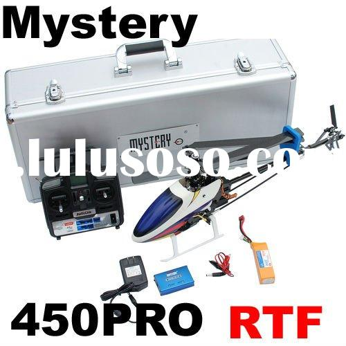Mystery Topspeed 450PRO RTF 3D 2.4G 6CH RC Helicopter Clone Align Trex 450PRO RTF