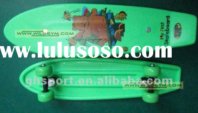 Penny Mini Plastic Skateboard With Grip Top