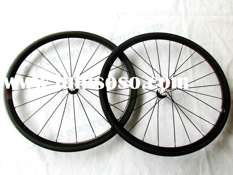 YS-CC38 mm carbon wheels clincher, carbon wheels, carbon road bike wheels, racing wheels