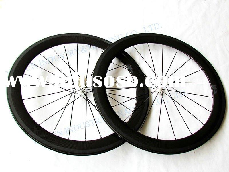 YS-CC60mm carbon bicycle wheels,carbon race wheels, carbon wheels clincher