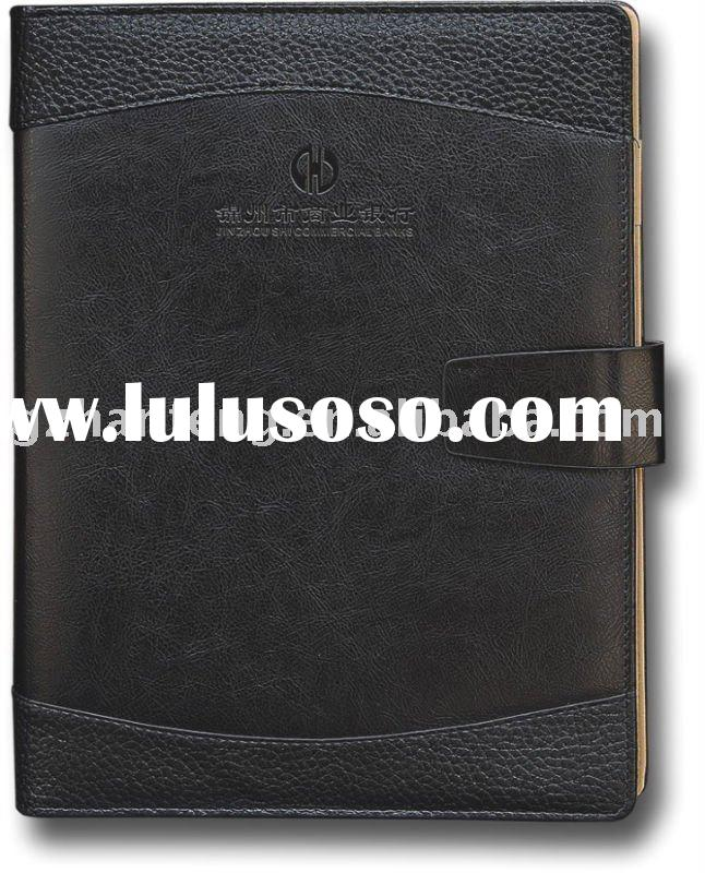 pu cover stationery