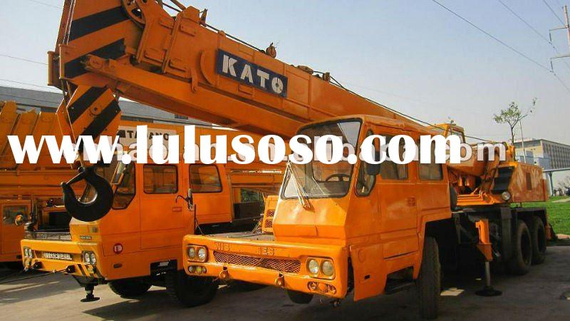 Mobile Crane Dubai : Used kato hydraulic mobile crane ton for sale price