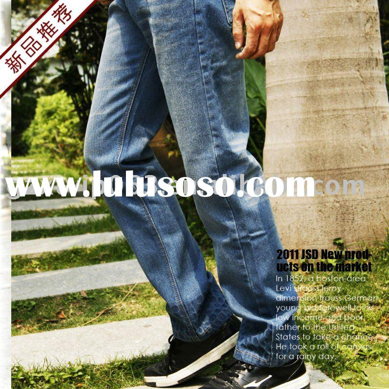 2011 new design hot sell men jeans