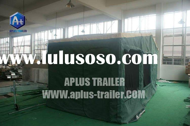 2012 14Oz popular style 7-12 feet camping trailer tent camper trailer tent for sale