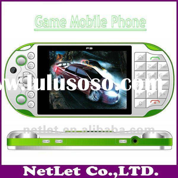 2012 Newest High Quality Touch Screen TV Dual SIM Cheap Game Mobile Phone P3