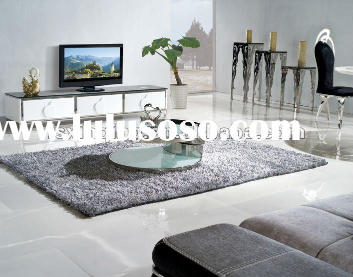 2012 modern design round living room center table,round glass coffee table C194