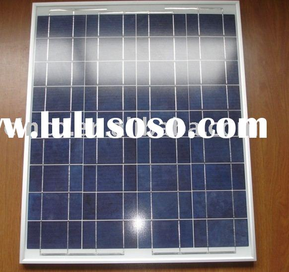 45W Solar Panel Poly Crystalline silicon Photovoltaic PV cell used for Solar kit Energy