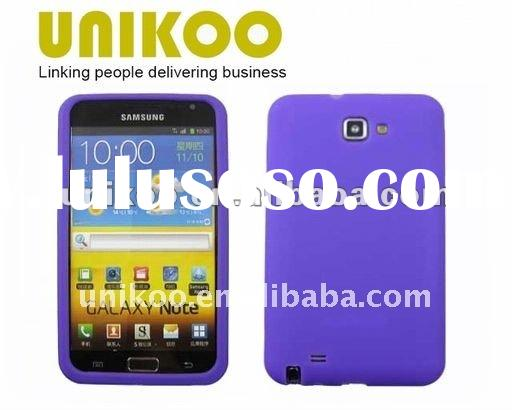 Cell phone cover For samsung galaxy note i9220 Silicone Case