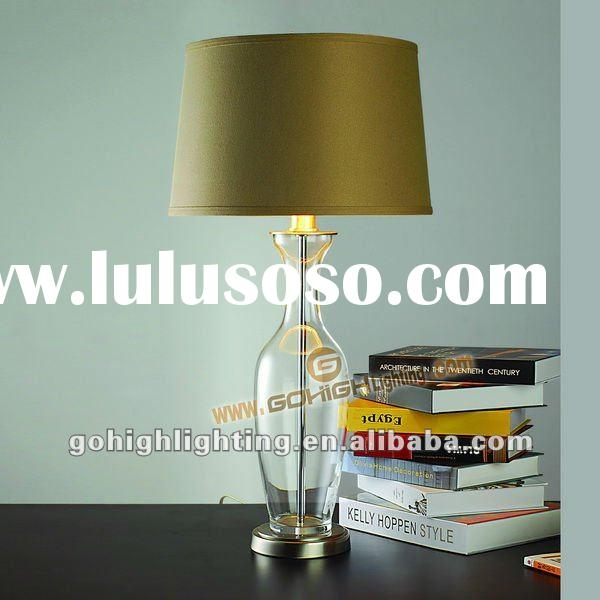 Clear glass table lamp TL5001XL Traditional Vase