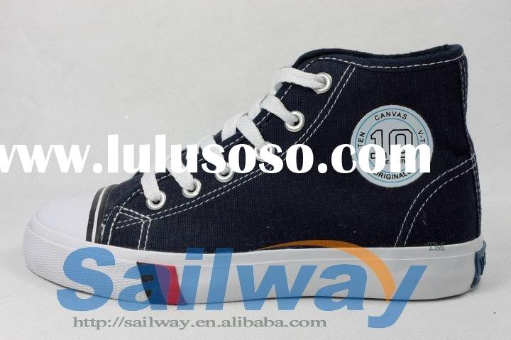 New High Top Canvas Sneakers with High Frequent Hot Logo Available in All Size