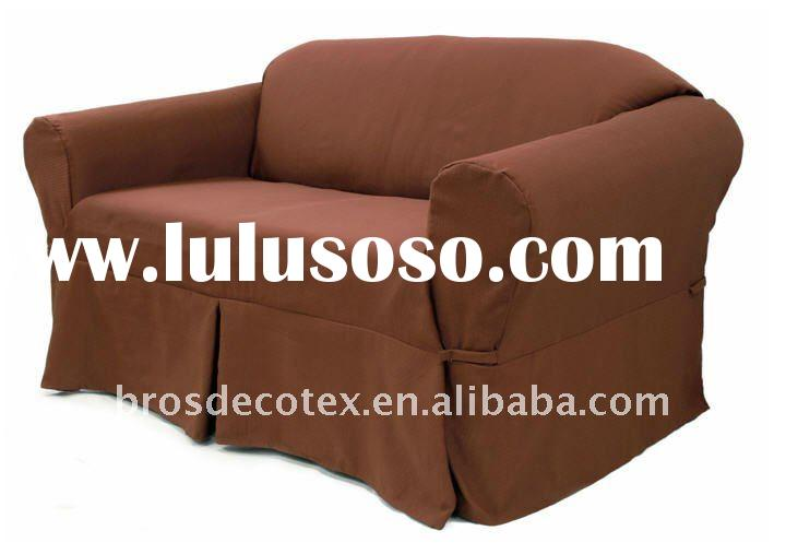 Non-stretch Furniture Slipcover (Sofa cover, three sizes: Sofa, Loveseat and Chair)