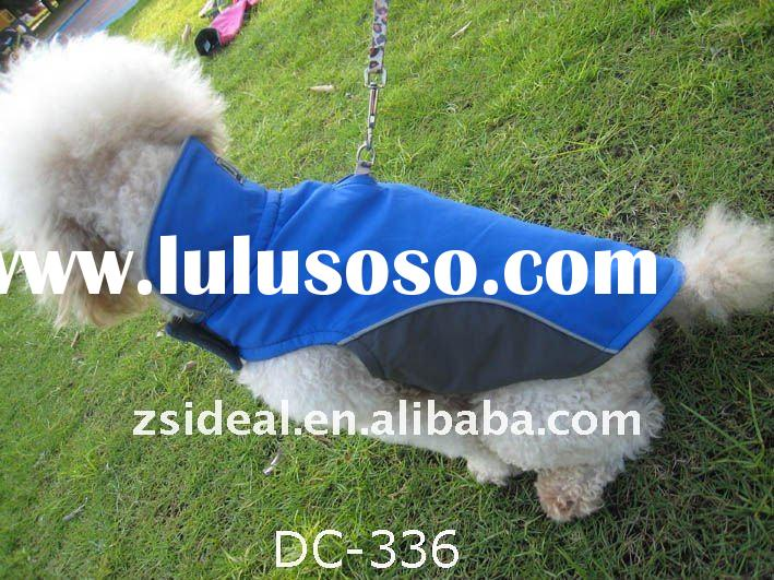 Nylon polar fleece waterproof /windproof dog coats jackets &outerwears