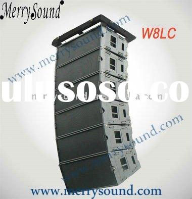 Pa system, martin audio, outdoor line array (W8LC)