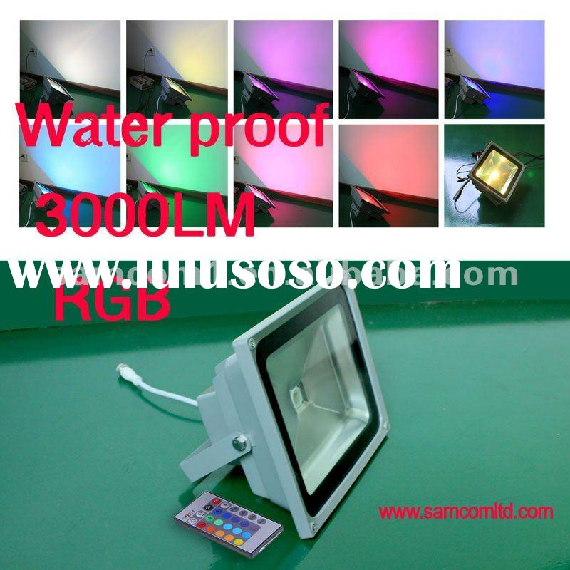 RGB 36w ip65 waterproof outdoor LED flood light wall washer