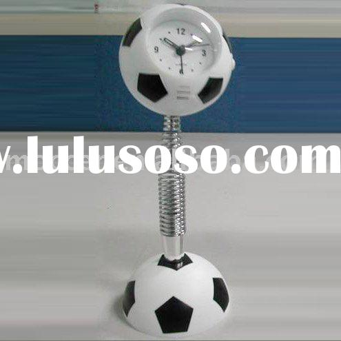 Soccer clock, ball shape clock, Gift clock