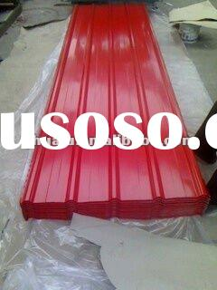 T type color coated corrugated steel sheets
