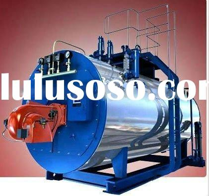 WNS 3-pass industrial oil(gas) heating steam boiler
