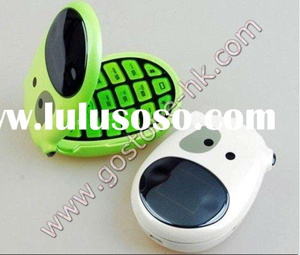 Wholesale - Best Quality China kiddy dual-band camera FM bluetooth cute cell phone c100