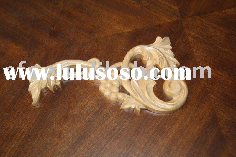 hand carved exquisite solid wood wood onlay