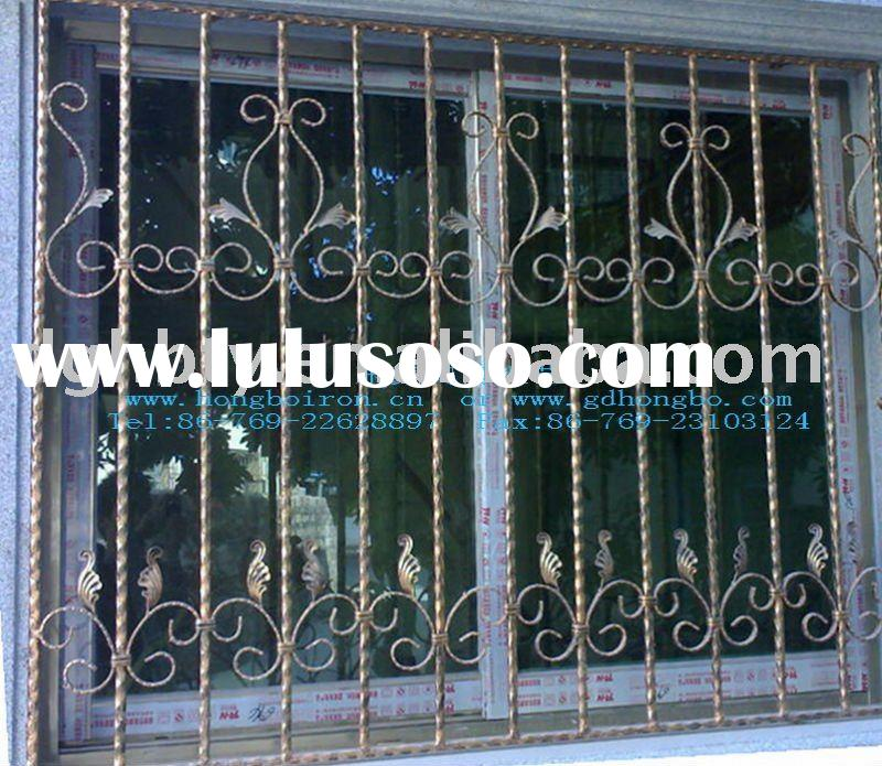 security steel window grille {HB-M011}