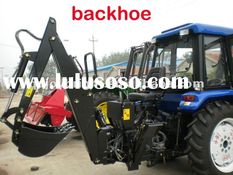 tractor with BACKHOE,PTO,SELF-POWER,TOWABLE,Hydraulic transmission,independent Gear pump,3 Points li
