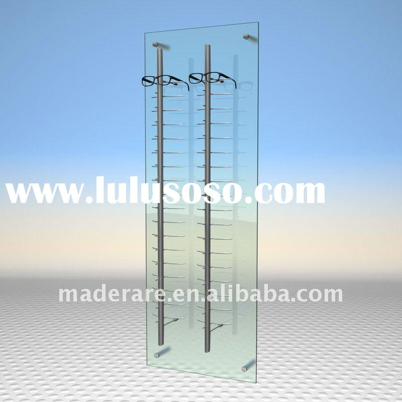 Wall Mount Acrylic Glasses Display For Sale Price China