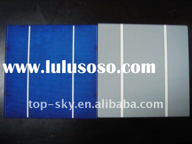 156x156 15%-17.6% high efficiency solar cell price solar cell 6x6 4w