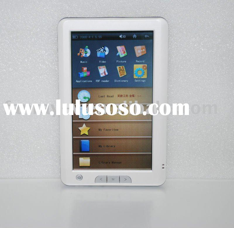 2010 e-book with hi-technology and assured service(Model No. E704)