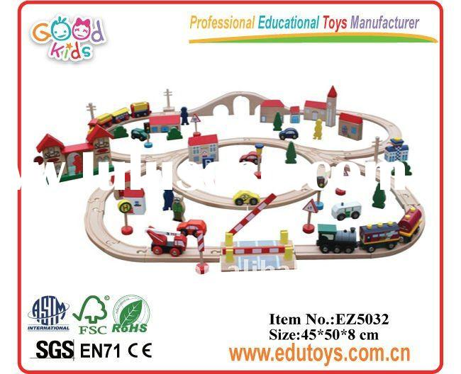 2011 New Wooden Train Set Toys for Kids