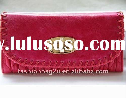 2011 TOP Fashion wallet for ladies factory price