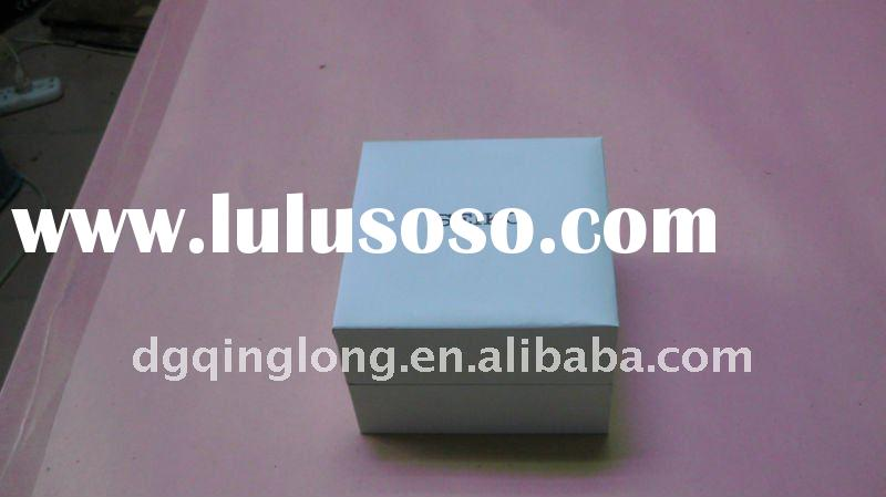 2011 hot product modern custom white small hinged plastic boxes made in china