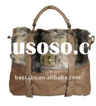 2012 Fur Satchel Handbag tote bag bags handbags fashion bag bags bags handbags brand name handbag tr