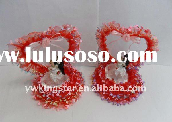 2012 good quality, hot sell, red color Resin Wedding Guest Gift souvenirs
