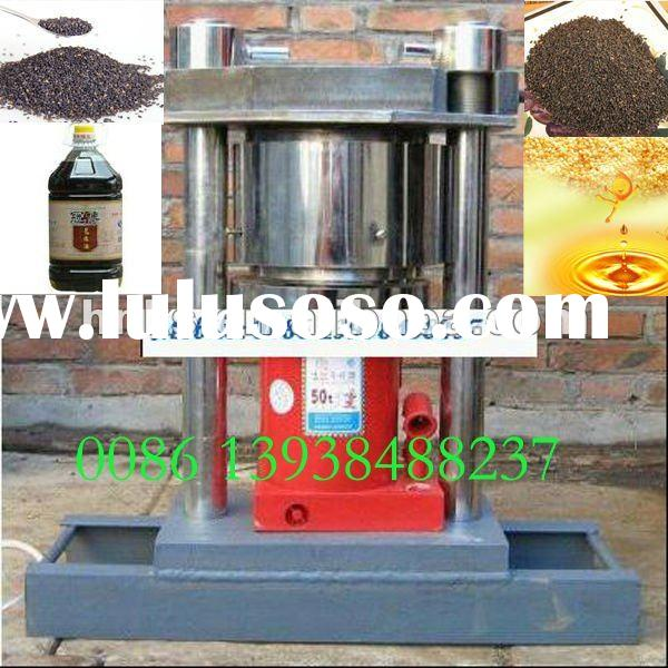 2012 newest hot pressed and cold pressed manual home oil press machine for delicious food // 0086 13