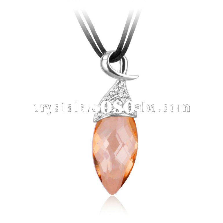 2012 swarovski element pendant Crystal Necklace, Jewelry with high quality