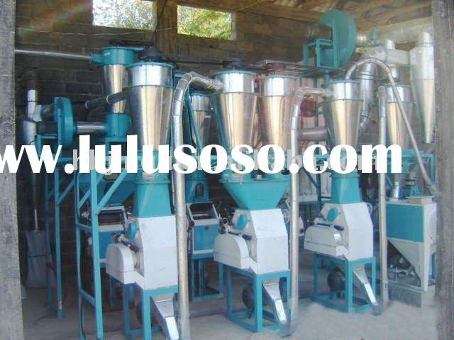22 tons per day small scale wheat flour processing machinery