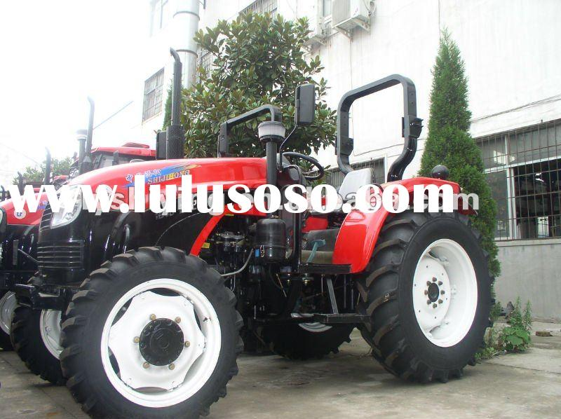 75hp 4wd garden tractor with front loader SJH754