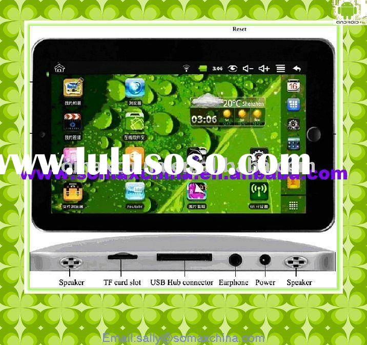 7 inch MID Tablet PC google android 2.2 table pc&laptop
