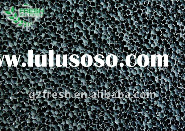 Activated carbon foam manufacturer with ISO9001 accredited