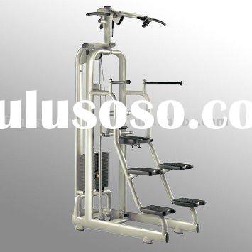 Assisted Easy Chin Dip fitness exercise equipment