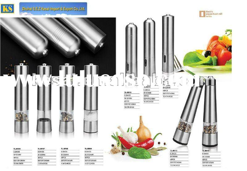 Automatic Pepper Mill , Electric Spice Grinder