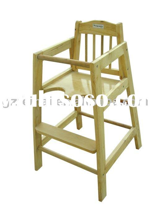 CT1002 wooden baby chair