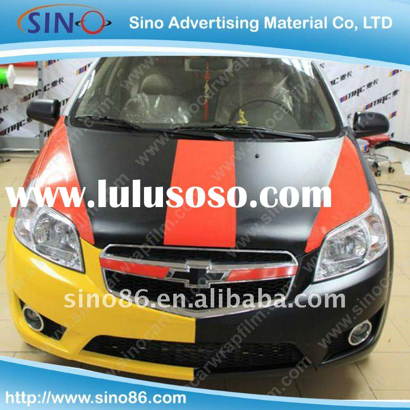 Car wrapping film,pvc vinyl film for car color change(Air free bubbles)
