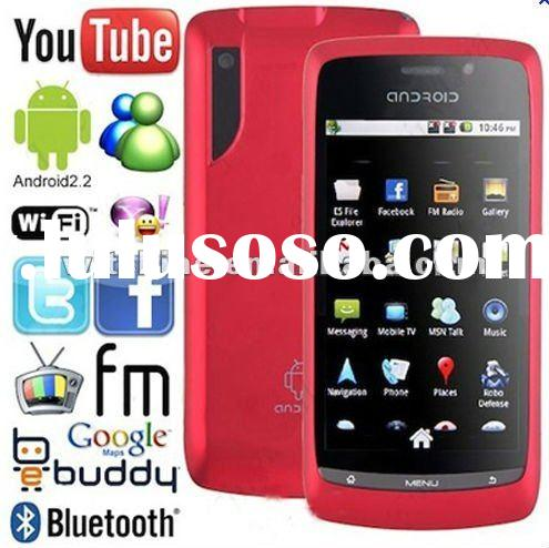 "Cheap Android Phone A8 Android 2.2OS Wifi GPS 3.5"" Screen"