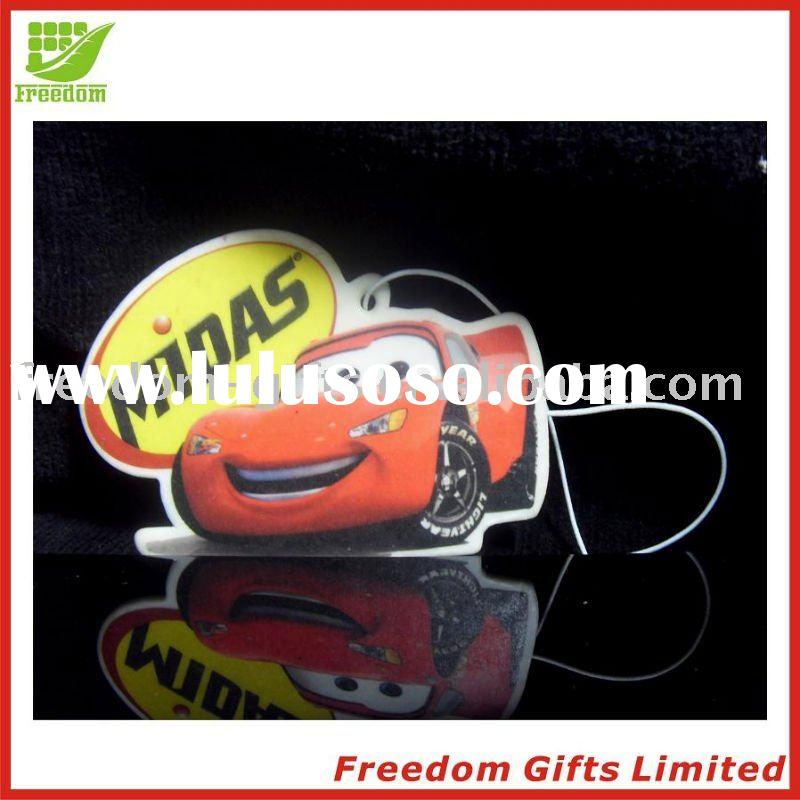 Cheapest Price Printed Car Shape Paper Car Air Fresheners