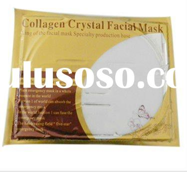 Crystal Collagen Facial Mask for face skin whiten ,face skin clean whole sale on promotion