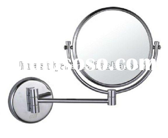 HSY-1448 wall mount make up mirror wall mounted flexible mirror wall mounted magnifying makeup mirro